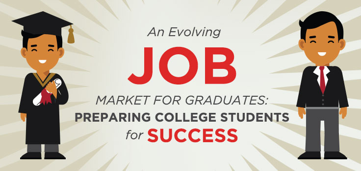 College and university leaders, faculty and staff can all play an important role in post-graduation student success.